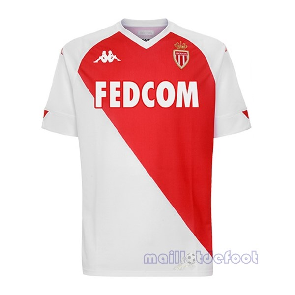 Domicile Maillot AS Monaco 2020 2021 Rouge Blanc Maillot Foot Promo