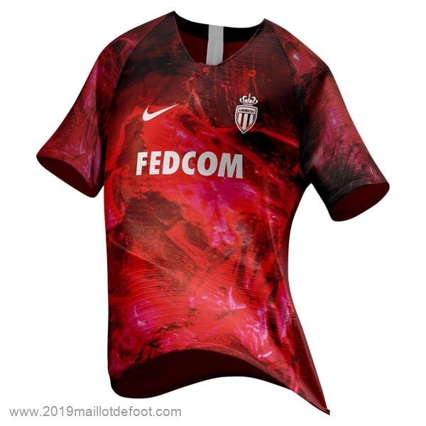 EA Sport Maillot AS Monaco 2018 2019 Rouge Maillot Foot Promo