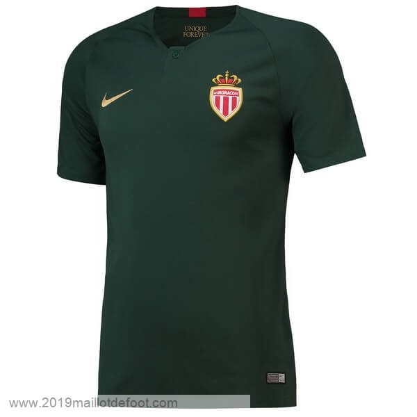 Exterieur Maillot AS Monaco 2018 2019 Vert Maillot Foot Promo