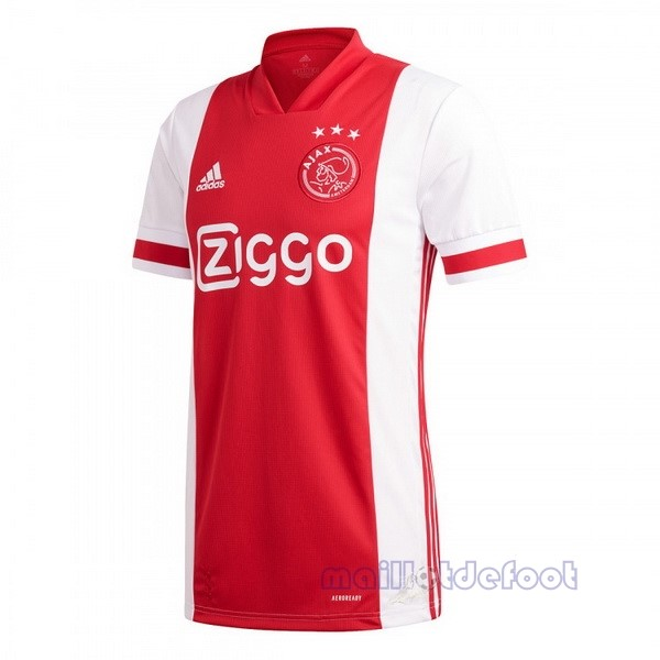 Domicile Maillot Ajax 2020 2021 Rouge Maillot Foot Promo