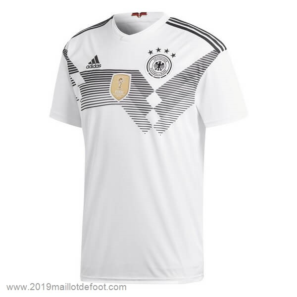 Domicile Maillot Allemagne 2018 Blanc Maillot Foot Promo