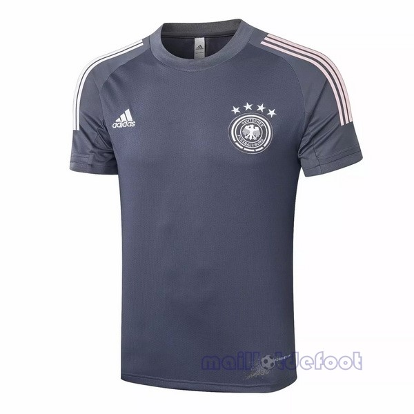 Entrainement Allemagne 2020 Gris Maillot Foot Promo