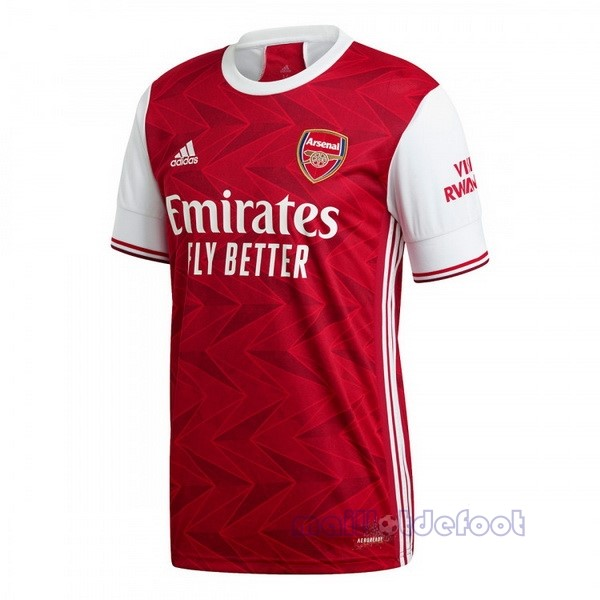 Domicile Maillot Arsenal 2020 2021 Rouge Maillot Foot Promo