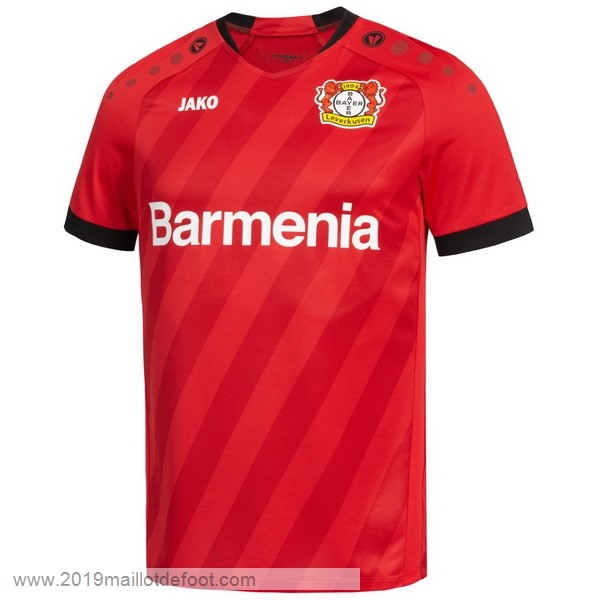 Domicile Maillot Leverkusen 2019 2020 Rouge Maillot Foot Promo