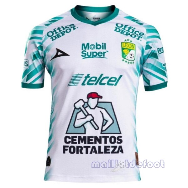 Third Maillot Club León 2021 2022 Blanc Maillot Foot Promo