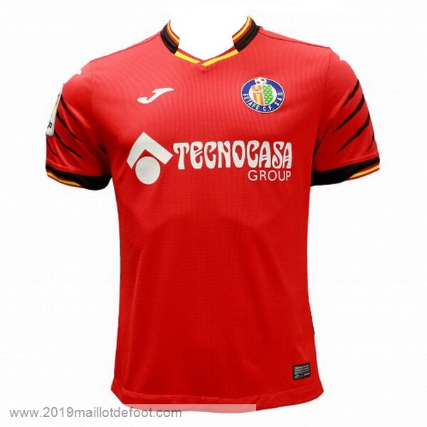 Thailande Exterieur Maillot Getafe 2018 2019 Rouge Maillot Foot Promo