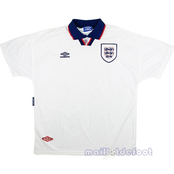 Domicile Maillot Angleterre Rétro 1994 Blanc Maillot Foot Promo