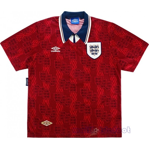 Exterieur Maillot Angleterre Rétro 1994 Rouge Maillot Foot Promo