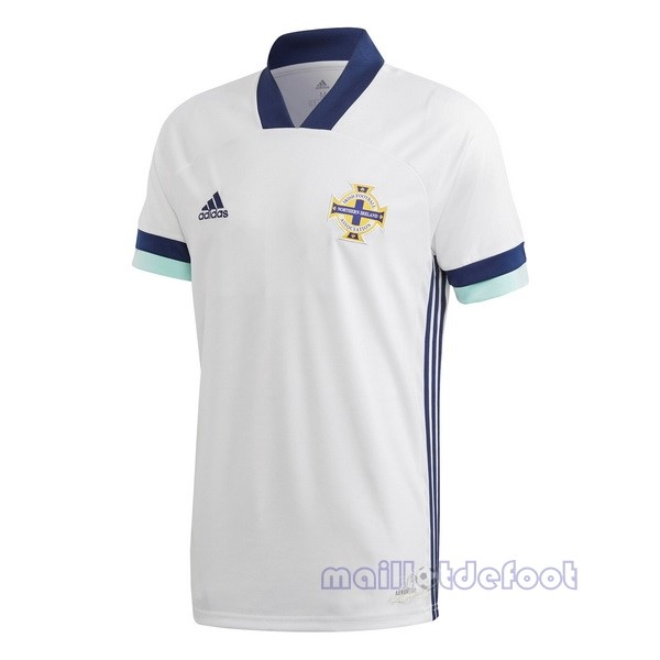Exterieur Maillot Irlande du Nord 2020 Blanc Maillot Foot Promo