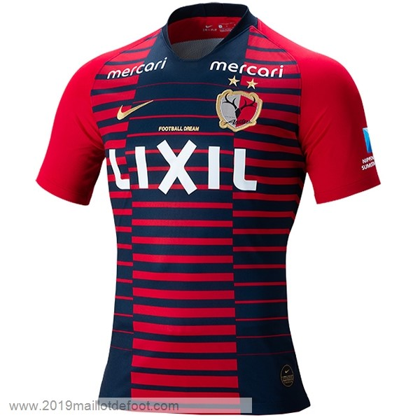 Domicile Maillot Kashima Antlers 2019 2020 Rouge Maillot Foot Promo