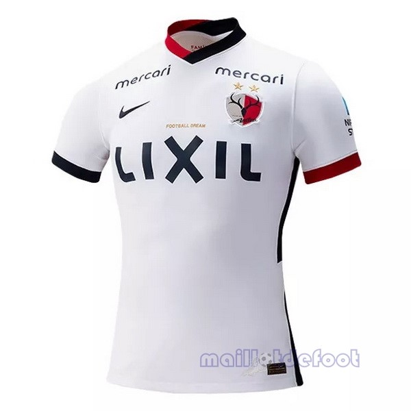 Exterieur Maillot Kashima Antlers 2021 2022 Blanc Maillot Foot Promo