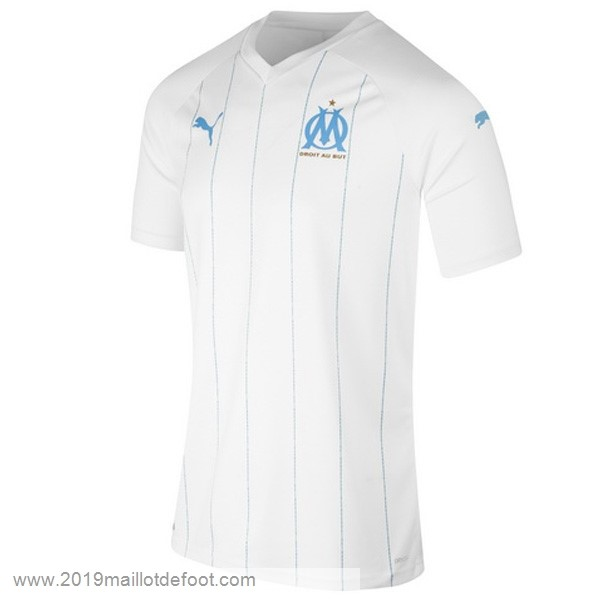 Thailande Domicile Maillot Marseille 2019 2020 Blanc Maillot Foot Promo