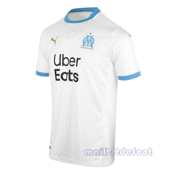 Thailande Domicile Maillot Marseille 2020 2021 Blanc Maillot Foot Promo