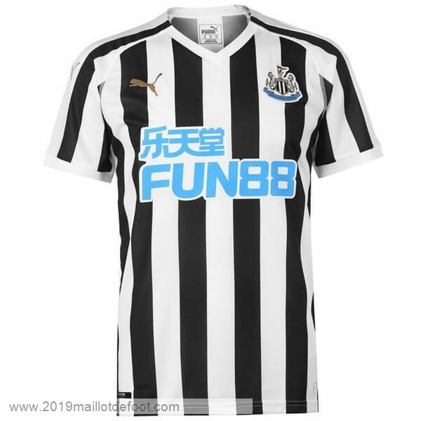 Domicile Maillot Newcastle United 2018 2019 Noir Maillot Foot Promo