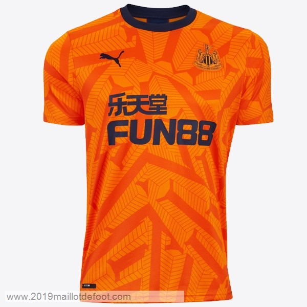 Third Maillot Newcastle United 2019 2020 Orange Maillot Foot Promo