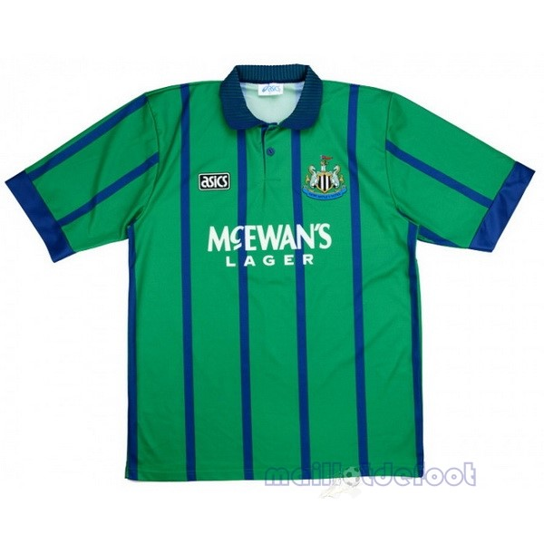 Third Maillot Newcastle United Rétro 1994 1995 Vert Maillot Foot Promo