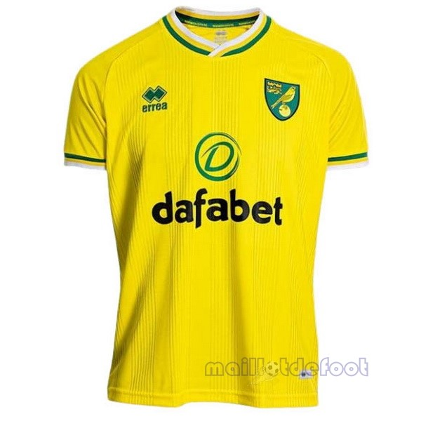 Domicile Maillot Norwich City 2020 2021 Jaune Maillot Foot Promo