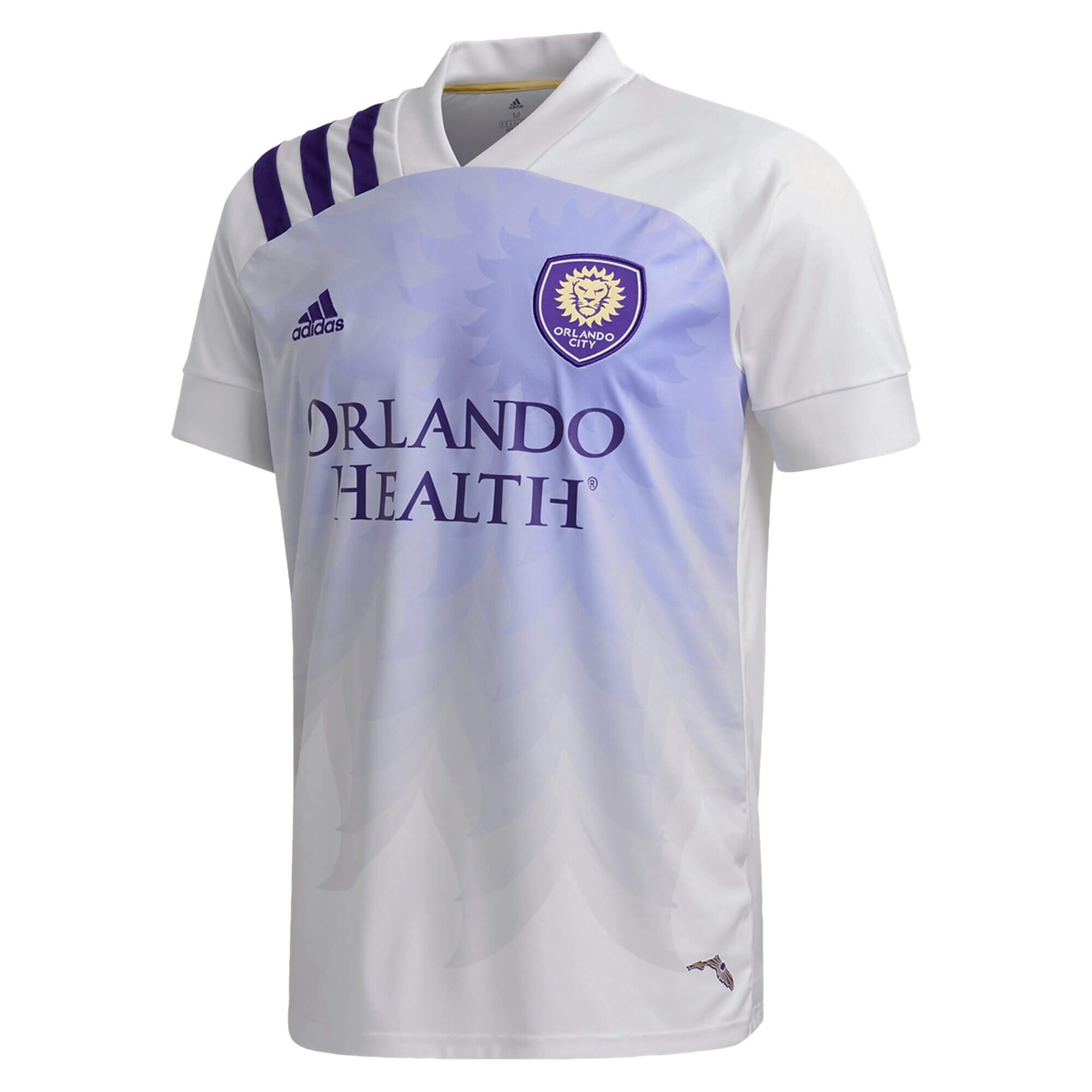 Exterieur Maillot Orlando City 2020 2021 Blanc Maillot Foot Promo