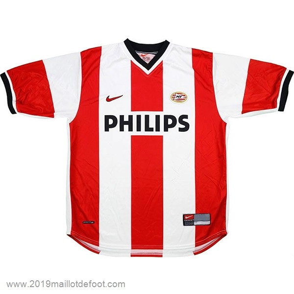 Domicile Maillot PSV Retro 1998 2000 Rouge Blanc Maillot Foot Promo