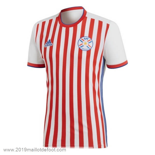 Domicile Maillot Paraguay 2018 Rouge Maillot Foot Promo