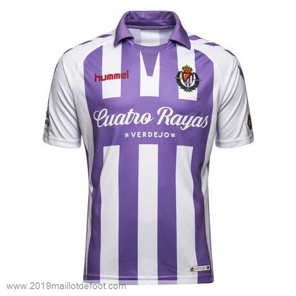 Domicile Maillot Real Valladolid 2018 2019 Purpura Maillot Foot Promo