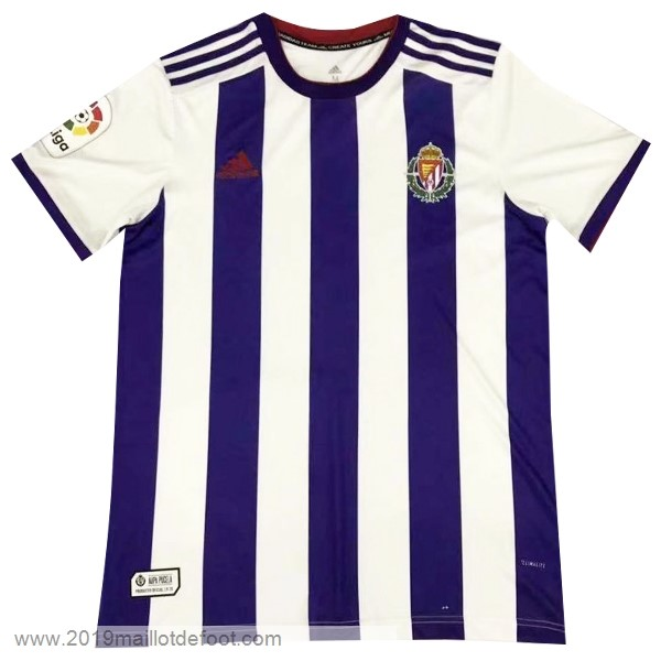 Domicile Maillot Real Valladolid 2019 2020 Purpura Maillot Foot Promo