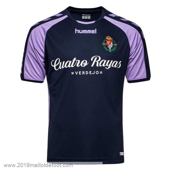 Exterieur Maillot Real Valladolid 2018 2019 Bleu Maillot Foot Promo