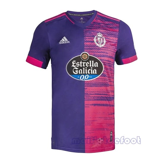 Exterieur Maillot Real Valladolid 2020 2021 Purpura Maillot Foot Promo