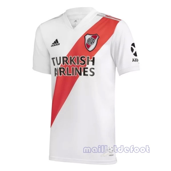 Casa 20.00 Camiseta River Plate 2020 2021 Blanc Maillot Foot Promo