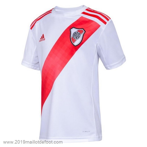 Domicile Maillot River Plate 2019 2020 Blanc Maillot Foot Promo