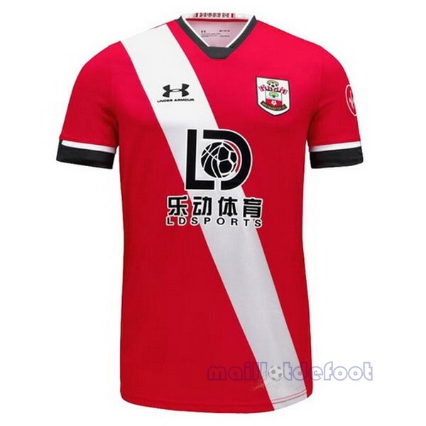 Domicile Maillot Southampton 2020 2021 Rouge Blanc Maillot Foot Promo
