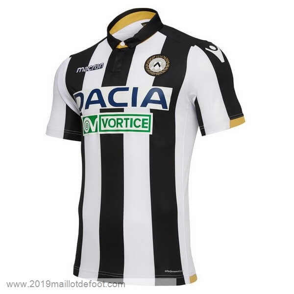 Domicile Maillot Udinese 2018 2019 Noir Blanc Maillot Foot Promo