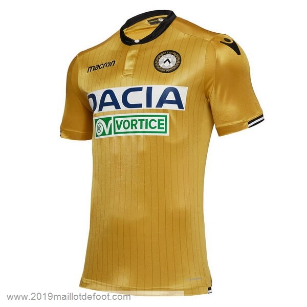 Exterieur Maillot Udinese 2018 2019 Jaune Maillot Foot Promo