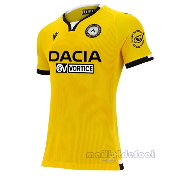 Third Maillot Udinese 2020 2021 Jaune Maillot Foot Promo