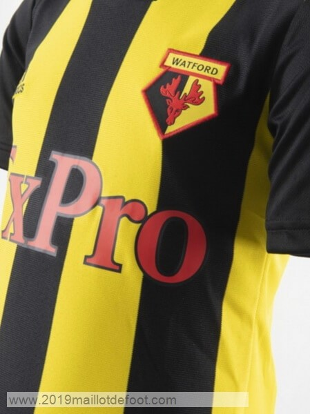 Domicile Maillot Watford 2018 2019 Jaune Maillot Foot Promo