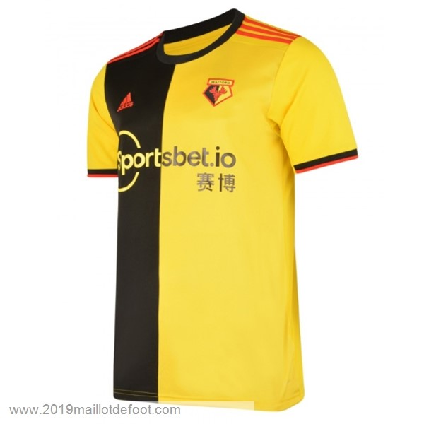 Domicile Maillot Watford 2019 2020 Jaune Maillot Foot Promo